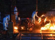भारतमा कोरोना : शव जलाउन १२ घन्टासम्म पर्खनुपर्ने अवस्था