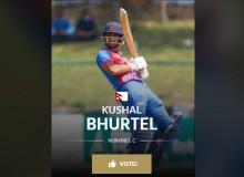 नेपालका कुशल भुर्तेल आईसीसीको उत्कृष्ट खेलाडीको मनोनयनमा